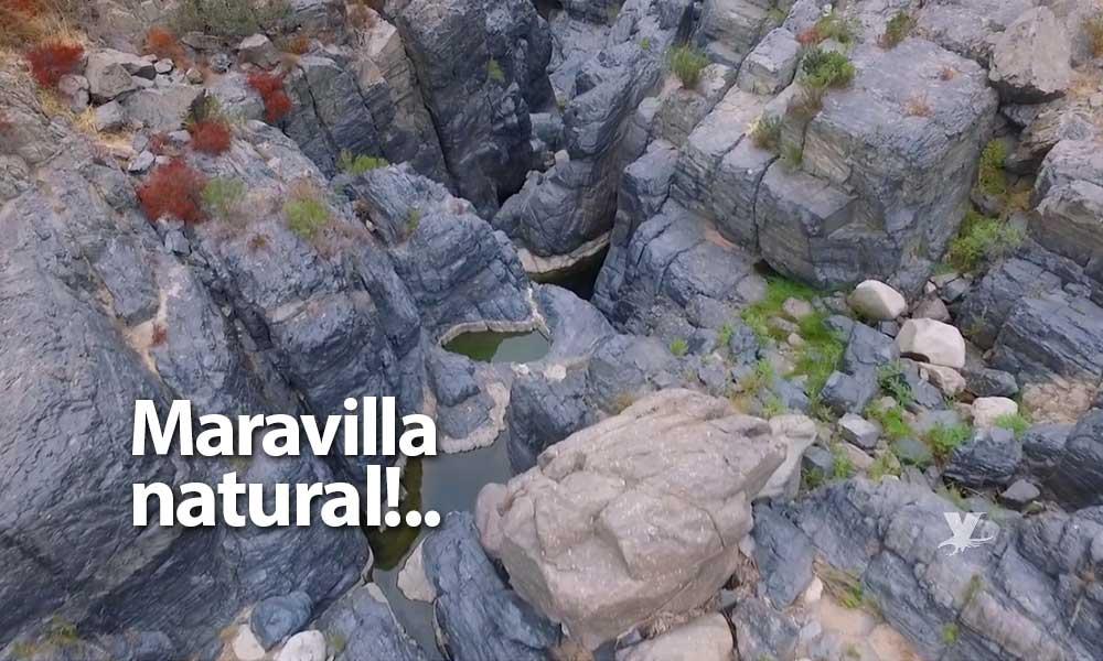 Conoce 'El Salto', una maravilla natural entre piedras volcánicas en Baja California