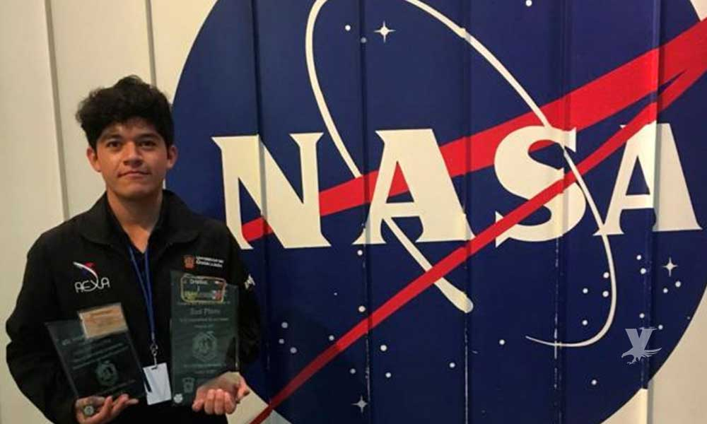 Joven mexicano ganó concurso de la NASA pero quedó endeudado con su escuela