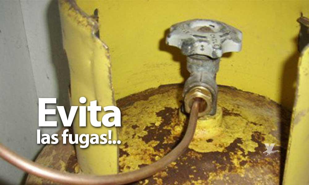¡Cuidado! Revisa tus mangueras y tanques de Gas LP en casa; alerta Protección Civil