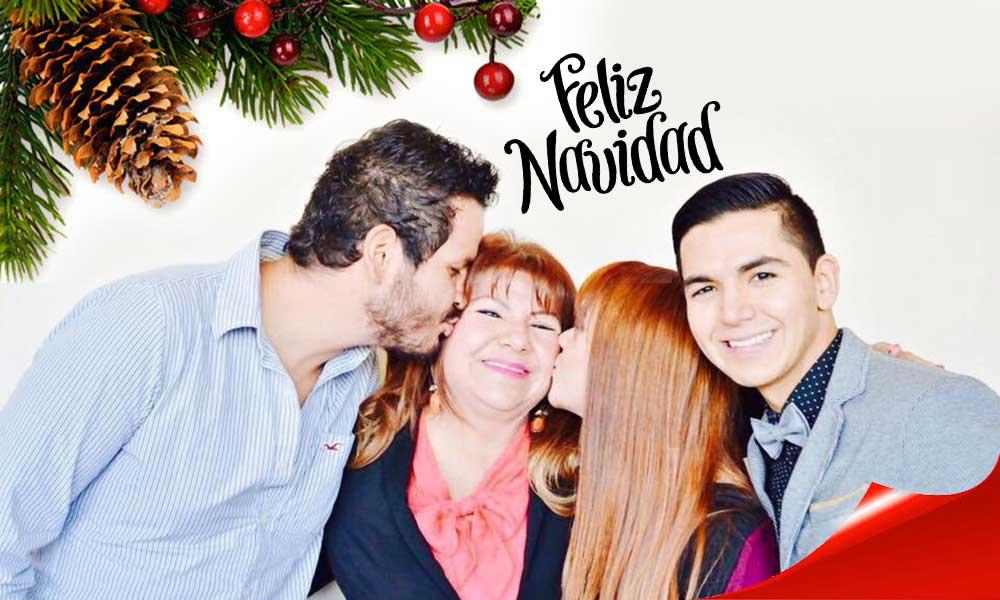 Marina Calderón envía buenos deseos a los Tecatenses en estas festividades decembrinas