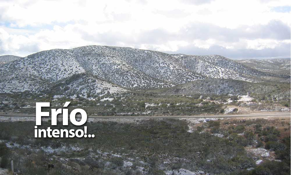 Intenso frío afectará a Tecate, Protección Civil emite recomendaciones