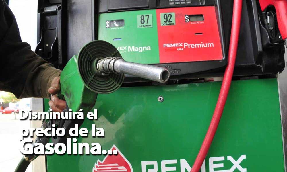 A partir del 1 de enero bajará el costo de la gasolina en la frontera norte: Secretaría de Economía