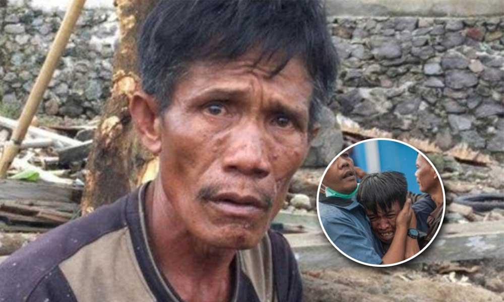 Desgarrador, Tsunami obliga a Udin a elegir entre salvar a su esposa, madre o bebé