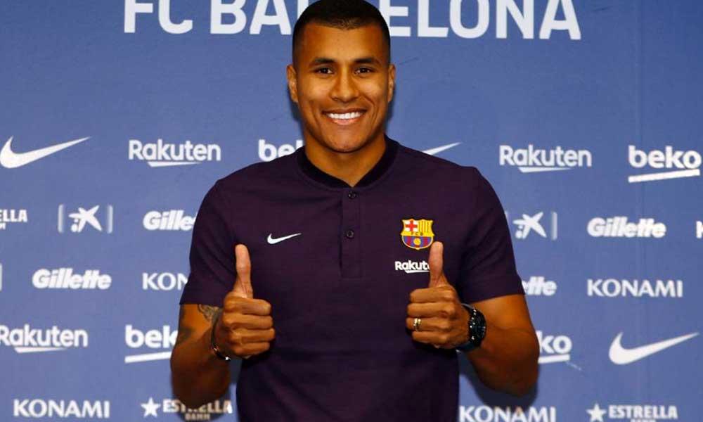 Jeison Murillo es el nuevo defensa central del Barcelona