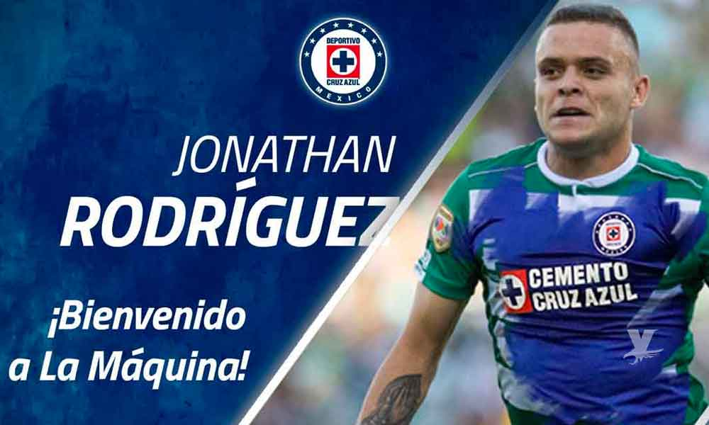 Jonathan Rodríguez prefirió reforzar al Cruz Azul que jugar en España