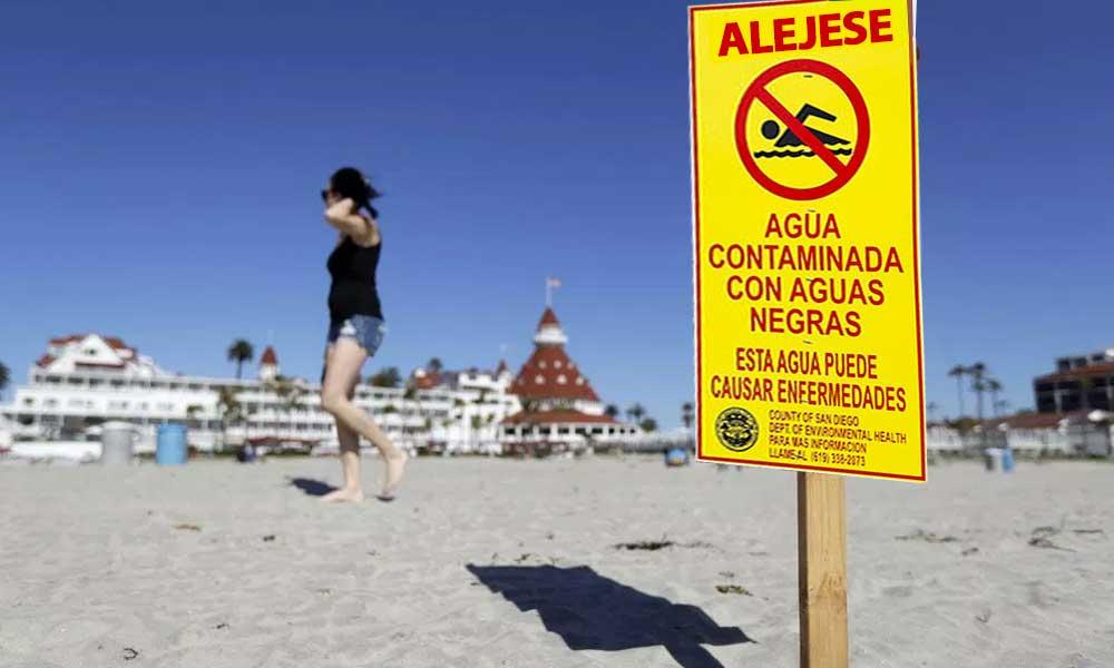 CESPT fundamenta el derrame de aguas negras en Río Tijuana que contaminó playas de San Diego