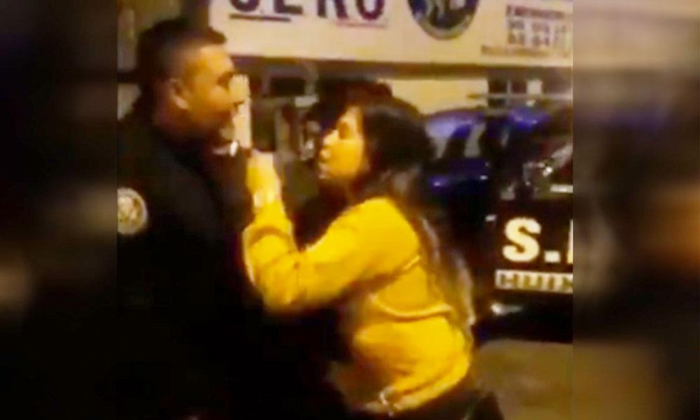 """(VIDEO) #LadyPGR insulta a policías y asegura que """"con López Obrador le van a pelar la ver…"""""""