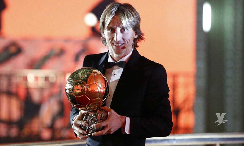 Luka Modric gana el Balón de Oro y finaliza con el dominio de Cristiano y Messi