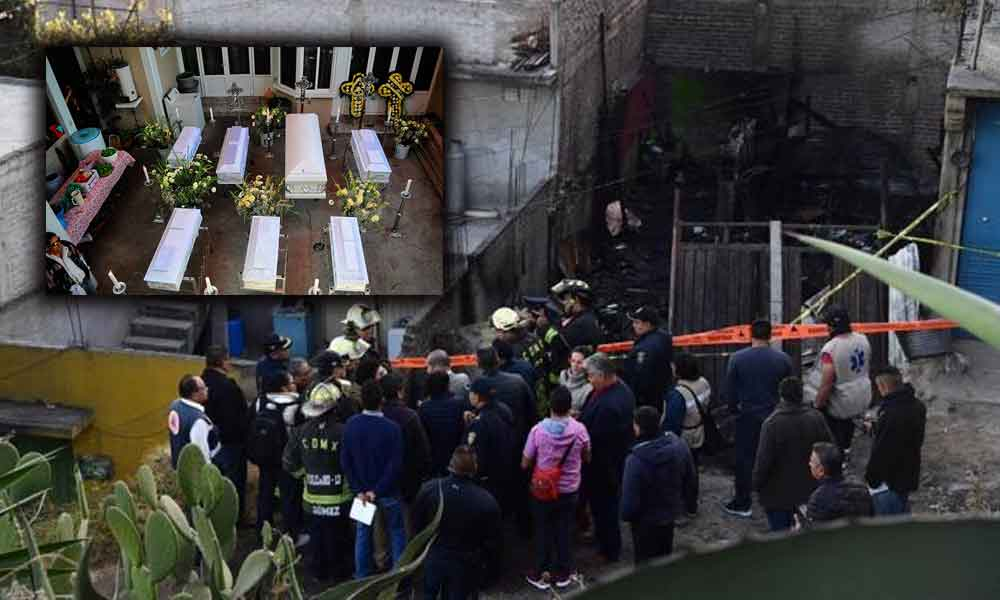 Ex novio de la abuela es el presunto responsable del incendio donde perdieron la vida 7 menores de edad