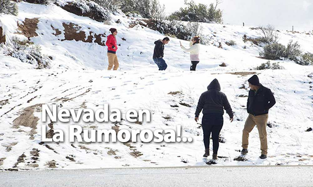Podría nevar en La Rumorosa este próximo jueves