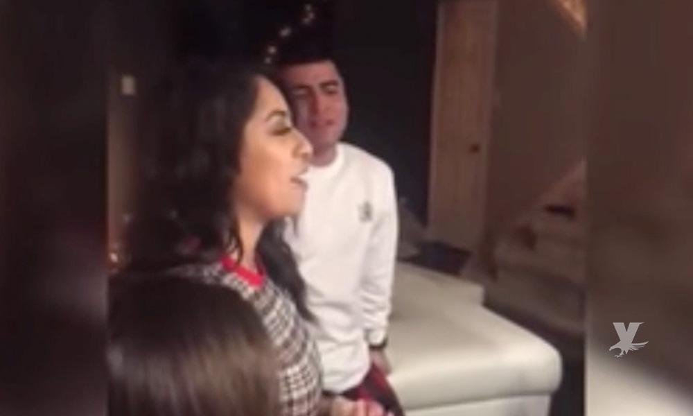(VIDEO) Celebraba su cumpleaños y su mejor regalo fue terminar con su novio por infiel
