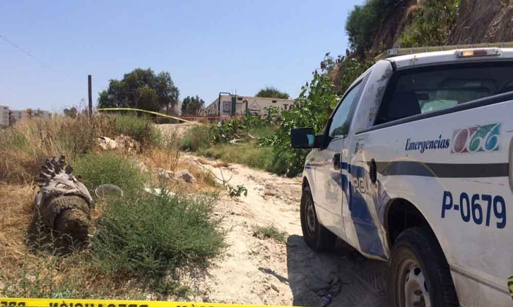 Encuentran cuerpo 'embolsado' y cabeza humana en Tijuana