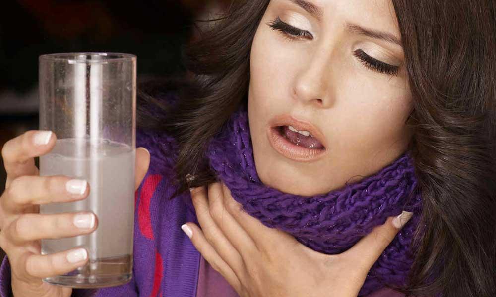 ¡Dolor de garganta! Desaparécelo con estos sencillos remedios
