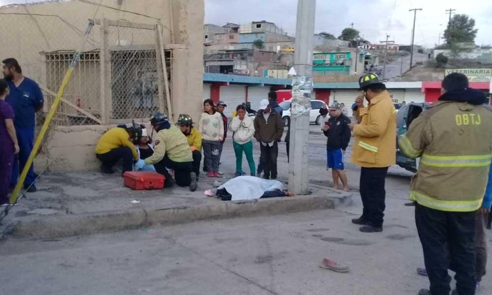 Pareja de salvadoreños es atropellada en Tijuana; uno de ellos muere