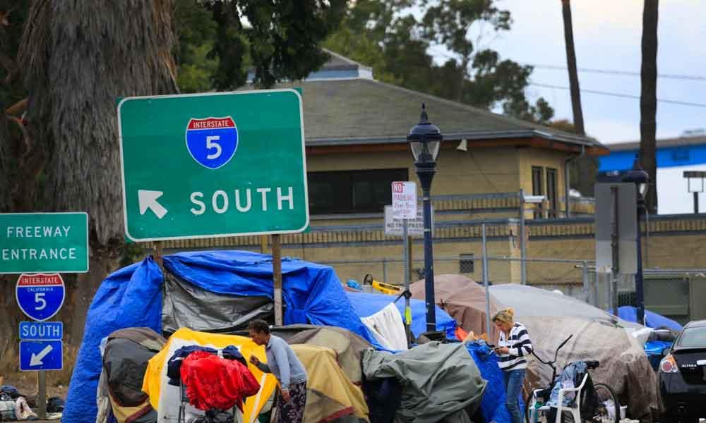 San Diego 4º lugar en Estados Unidos con más vagabundos