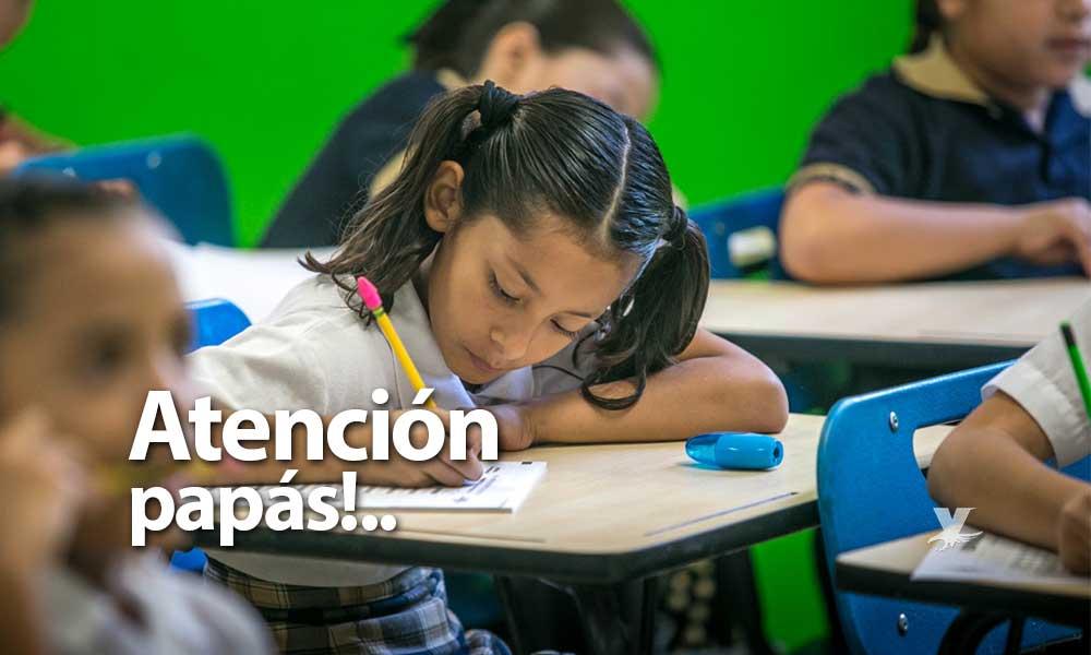 19 de diciembre último día para realizar inscripciones a Etapa Básica para el ciclo escolar 2019-2020
