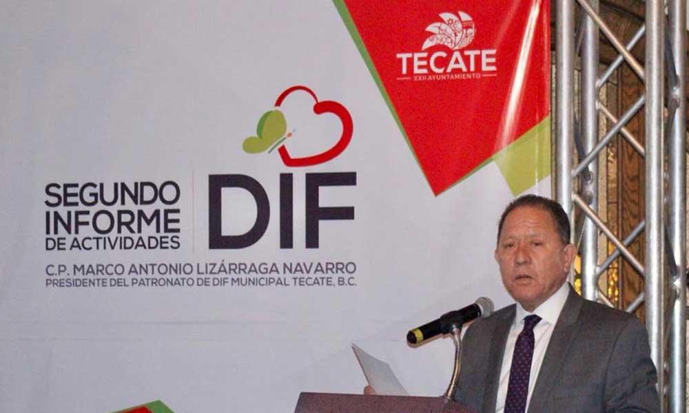 DIF Tecate presenta su 2º Informe de Actividades