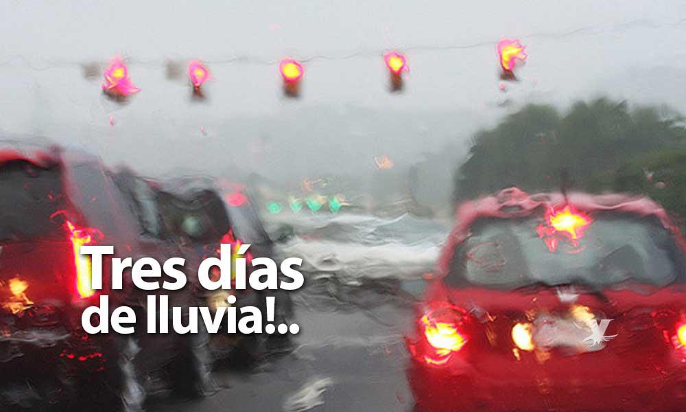 Tres días de lluvia a partir del 25 de diciembre en Baja California