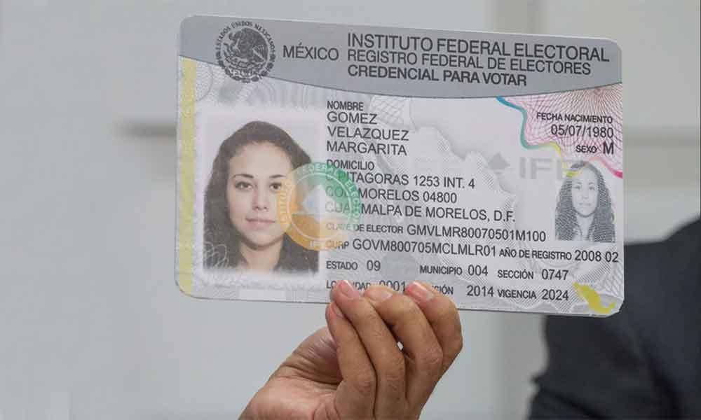 """INE elimina dato de """"Sexo"""" en credencial para votar"""