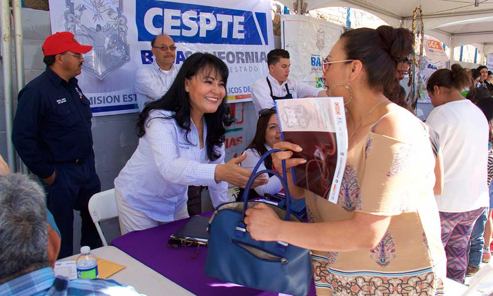 CESPTE instala módulos foráneos para el pago de agua en Tecate