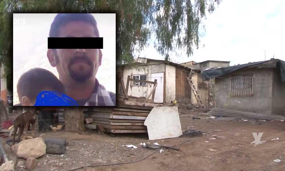 (VIDEO) Hombre asesinó brutalmente a 'martillazos' a su pareja en Ensenada