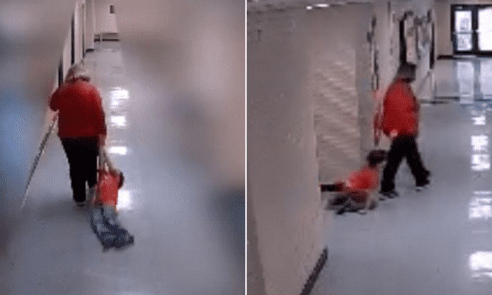 """(VIDEO) Maestra es despedida por """"arrastrar"""" al pequeño Alan, un niño con autismo"""
