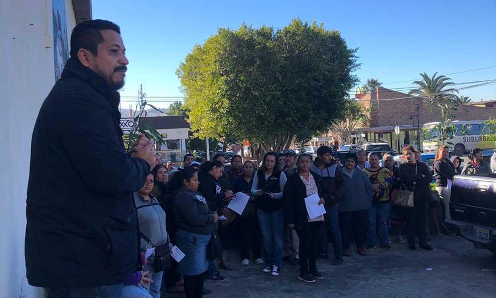 Diputado Benjamín Gómez entrega 1,500 láminas, beneficiando a más de 250 familias de escasos recursos en Tecate