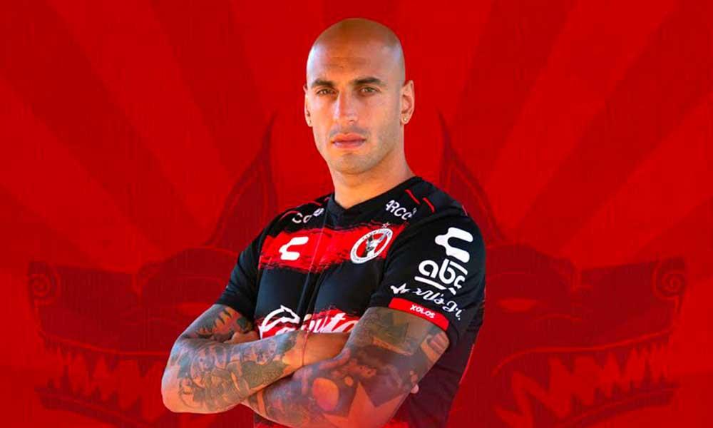 Ariel Nahuelpán nuevo delantero de los Xolos