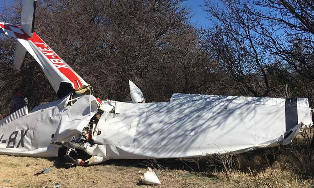 Muere vocal ejecutivo del INE en Durango tras desplomarse la avioneta en la que viajaba