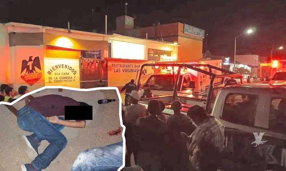 Sicarios disparan contra asistentes de un bar dejando 7 personas muertas