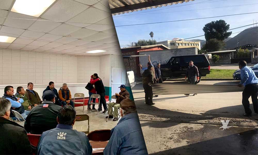 Atiende Diputado Benja Gómez necesidades de taxistas agremiados a la CTM en Tecate
