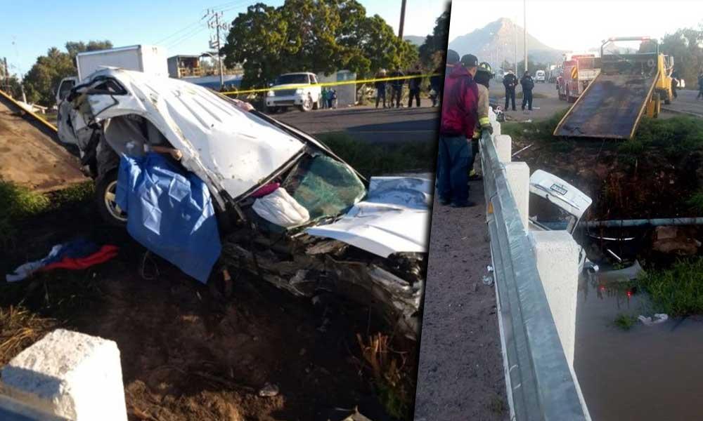 Mueren cuatro en fatal accidente; camioneta que se dirigía a Tijuana cae a canal
