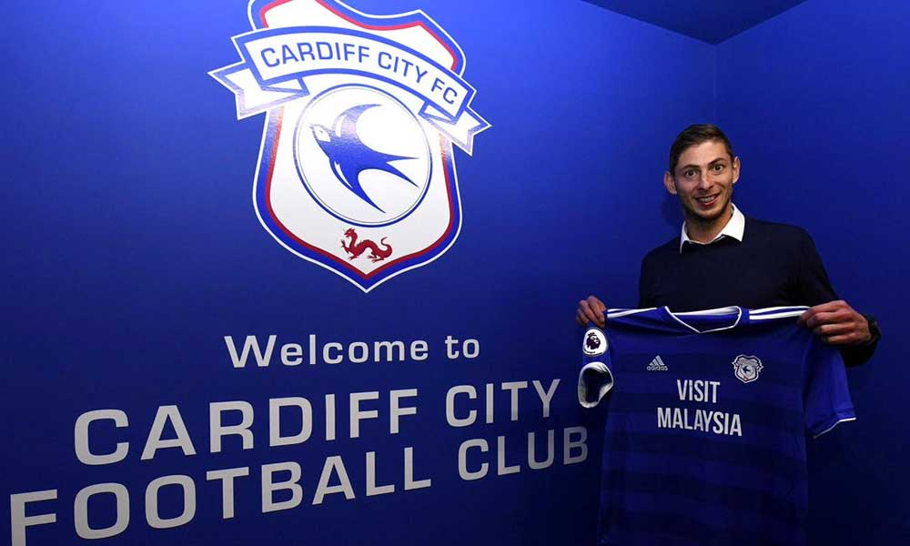 Desaparece avioneta en la que se trasladaba Emiliano Sala, nuevo refuerzo del Cardiff