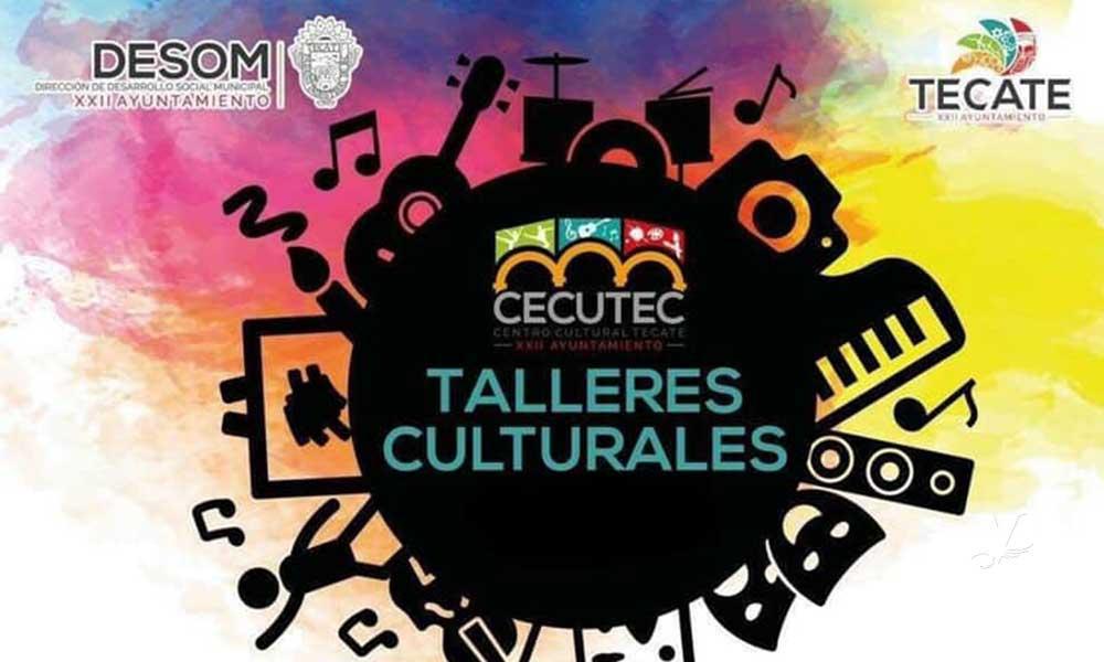Abren inscripciones para Talleres Culturales 2019 de Cecutec en Tecate