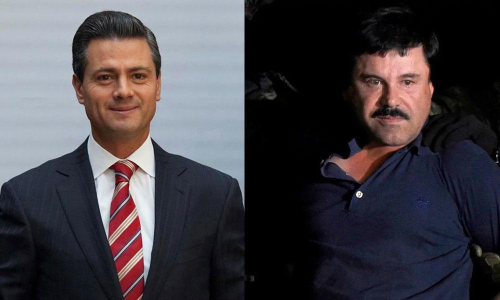 """Ex mano derecha declaró que """"El Chapo"""" sobornó a Peña Nieto con 100 millones de dólares"""