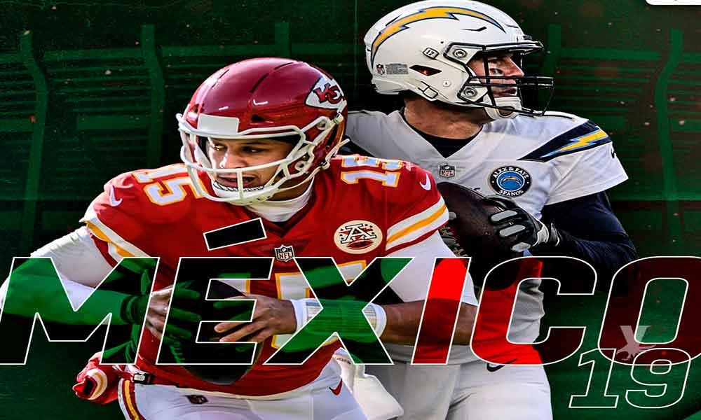 Chargers vs Chiefs se enfrentarán en el Estadio Azteca la próxima temporada