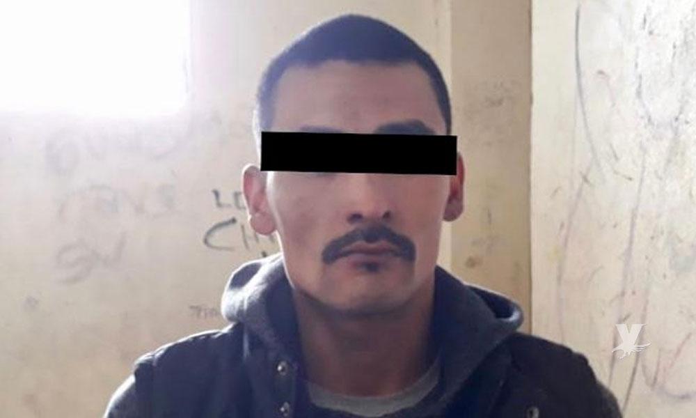 Policía Municipal de Tecate captura a sujeto prófugo de la justicia