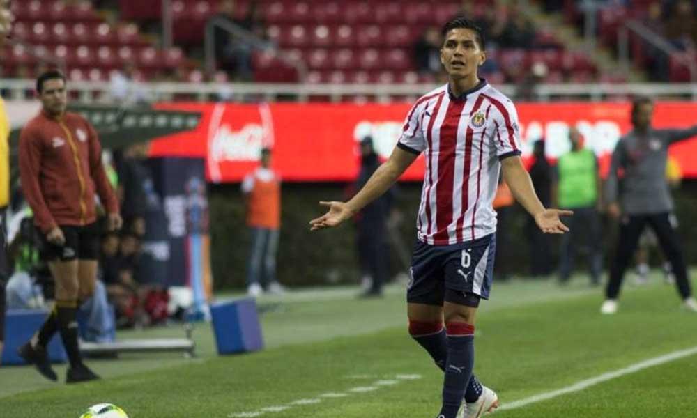 Refuerzo de Chivas; Dieter Villalpando fuera de las canchas por 4 semanas