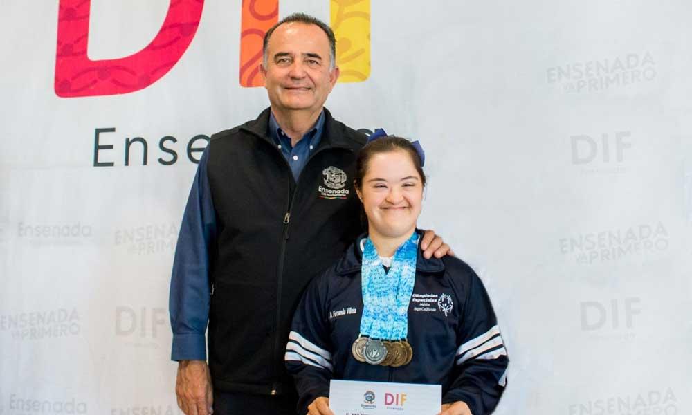 Ensenadense participará en los Juegos Mundiales de Olimpiadas Especiales en Emiratos Árabes Unidos
