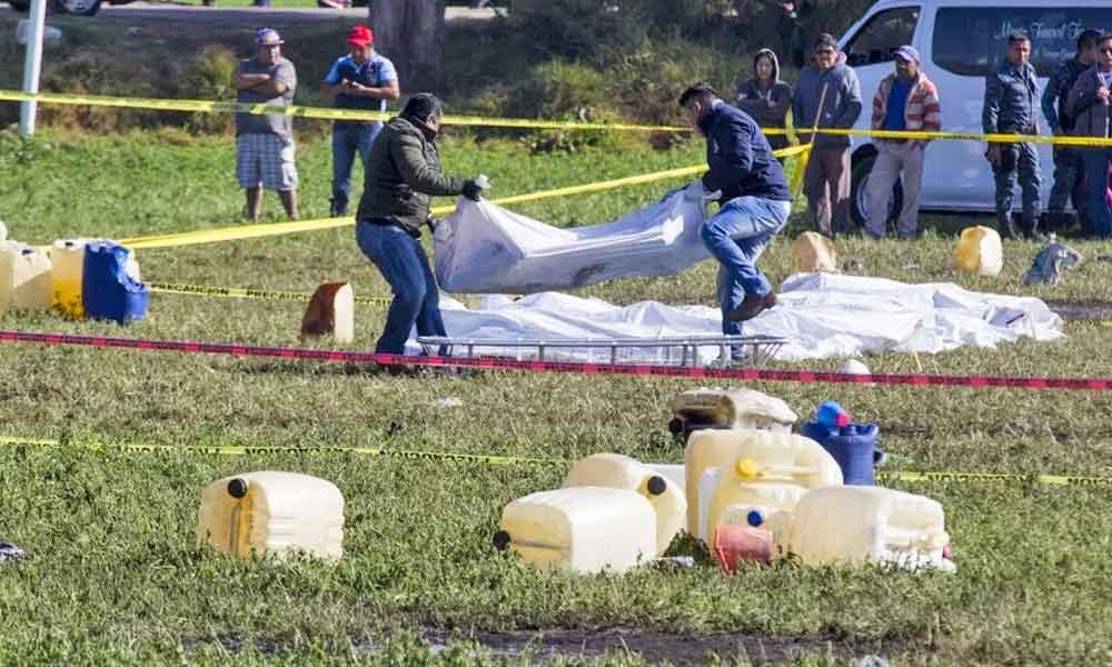 Aumenta la cifra, ya son 109 los fallecidos por la explosión de la toma clandestina en Hidalgo