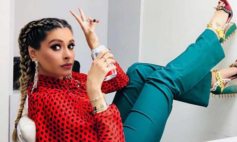 Galilea Montijo salió de programa 'Hoy' con la cara llena de sangre