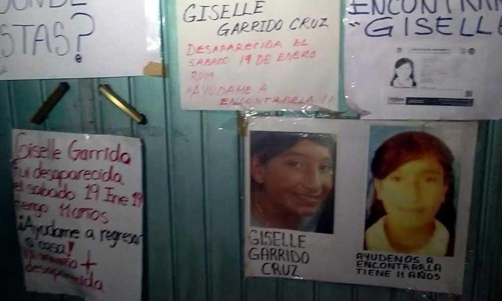 Encuentran muerta a Giselle, reportada desaparecida hace una semana