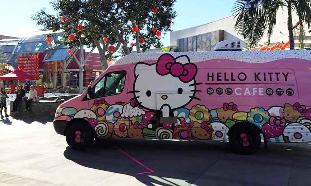 San Diego tendrá la visita este fin de semana del Hello Kitty Cafe Truck