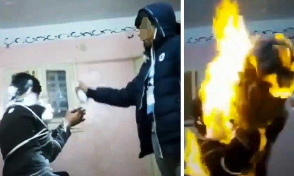 #HuachicolChallenge el nuevo reto que invita a los jóvenes a prenderse fuego