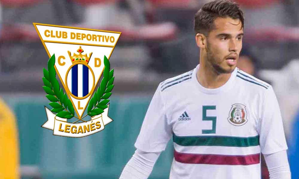 Leganés anuncia la llegada del mexicano Diego Reyes