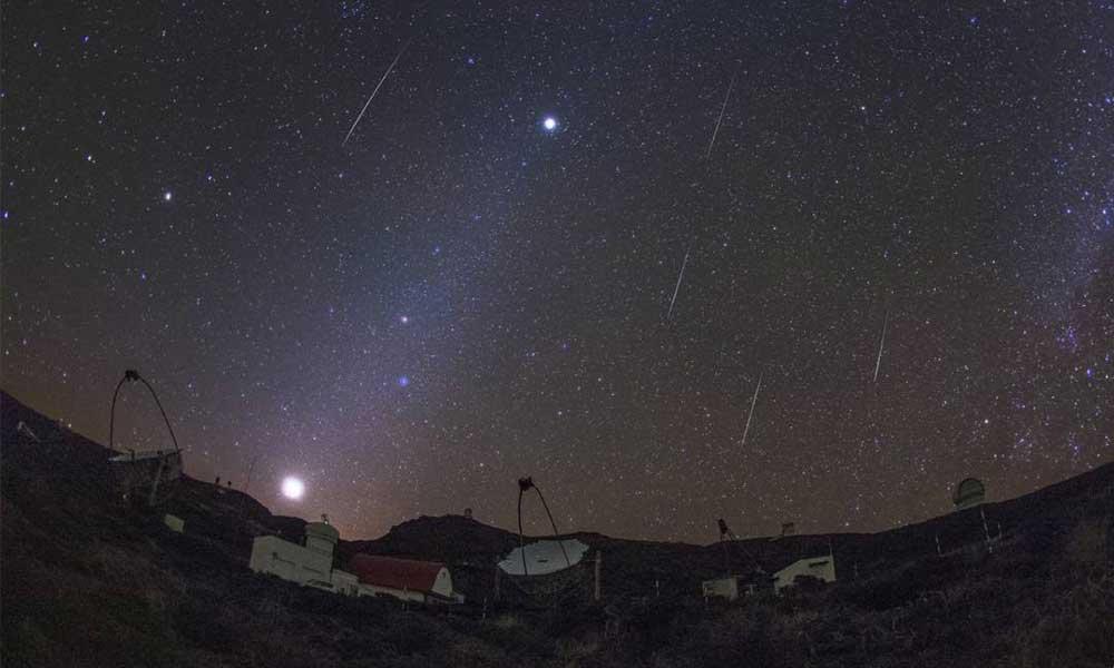 Esta noche será la primera lluvia de meteoros del año, hasta 200 meteoros por hora