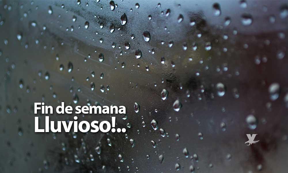 Lluvia este sábado por la noche y domingo durante el día para Tecate, Tijuana y Rosarito