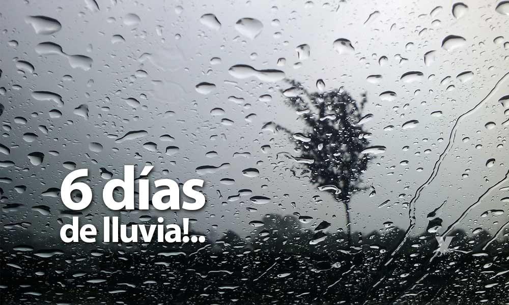 ¡Prepárate! 6 días de lluvia para Baja California
