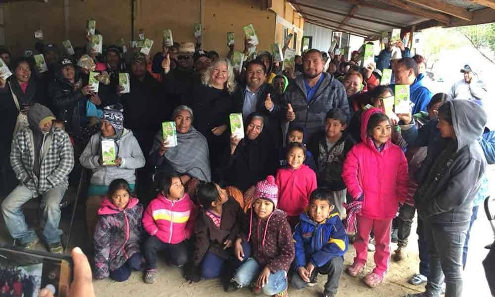 Marina Calderón asegura que ahora si la leche Liconsa llegará a la gente más pobre
