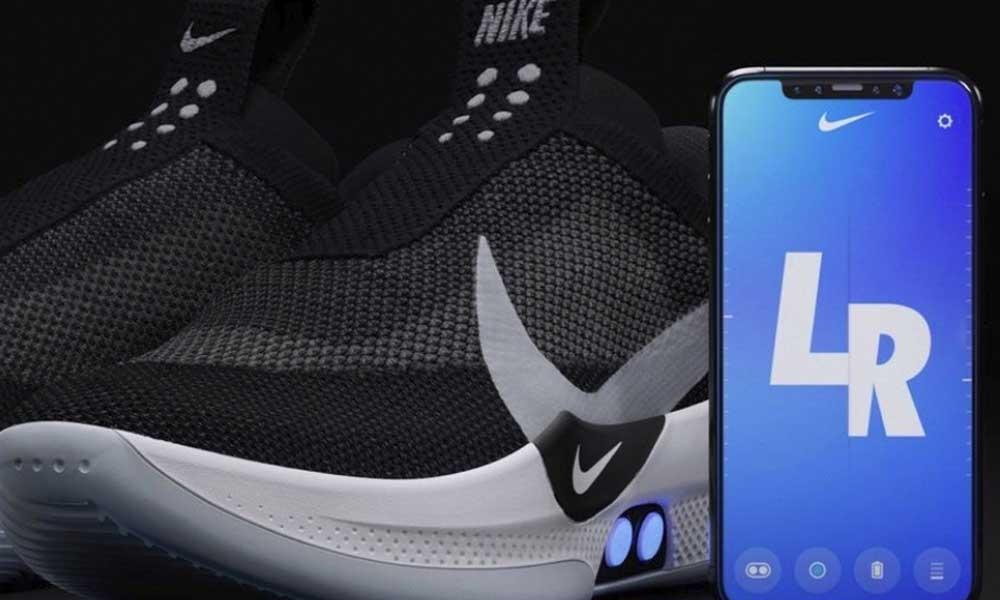 Nike presenta nuevos tenis que se atan por medio de una app